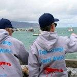 Coast Watch volunteers in action