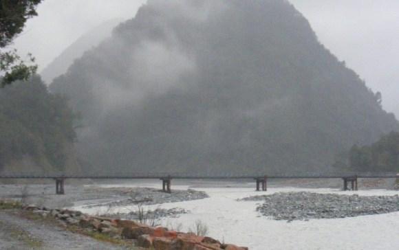 The Waiho River.