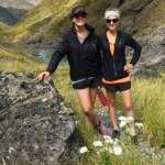 Steph and Georgia Sanson in the Otira Valley.
