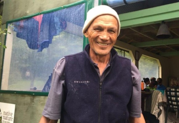 Kevin Prime (Ngāti Hine) at Te Pukenga Atawhai.