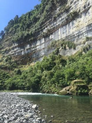 A quick swim in the Rangitikei.