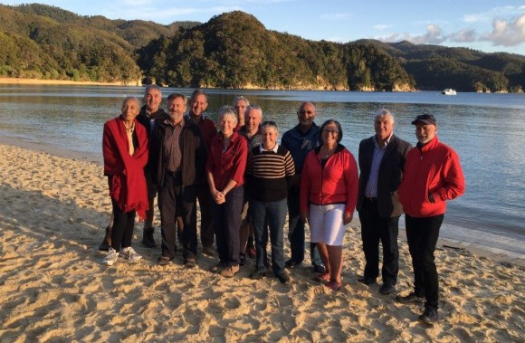 Current members of the New Zealand Conservation Authority.