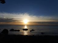 Sunset at Fantail Bay. Photo: Frederick Church.