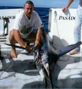 Doug Taucher fishing.