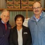 Martyn Dunne - MPI CEO, Nora Rameka - Te Rūnanga o Ngāti Rehia and Lou Sanson.