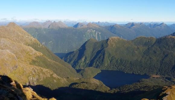 Shy Lake from Mount Blim.