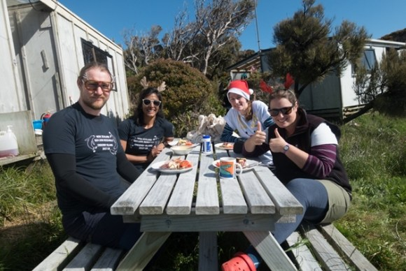 Christmas lunch.