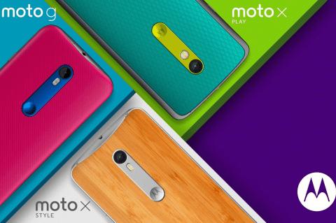 Motorola presenta sus tres nuevos smartphone