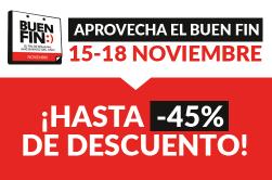 Buen Fin México en doctorSIM: ¡hasta el 45% de descuento!