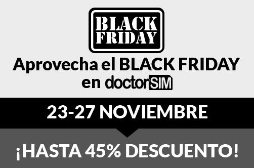 Black Friday en doctorSIM con descuentos en TODOS los servicios
