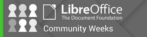 LibreOffice Community Weeks