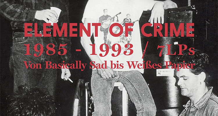 Element of Crime Reissues auf Vinyl