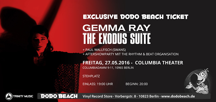 Gemma Ray - The Exodus Suite im Dodo Beach Fanpaket