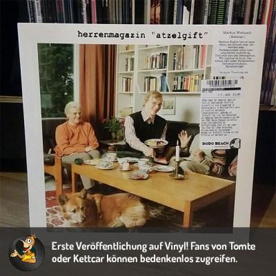 Herrenmagazin – Atzelgift Vinyl LP