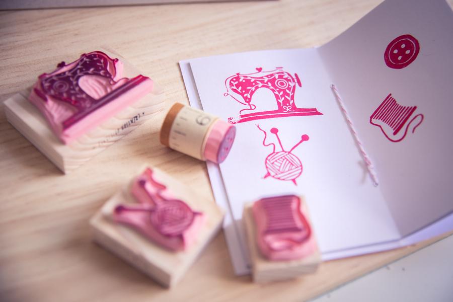 Stamp & Sew : L'écrin de marque des couturières