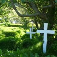 Der Friedhof von Hof í Oræfi