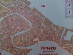 Karte mit meiner Route