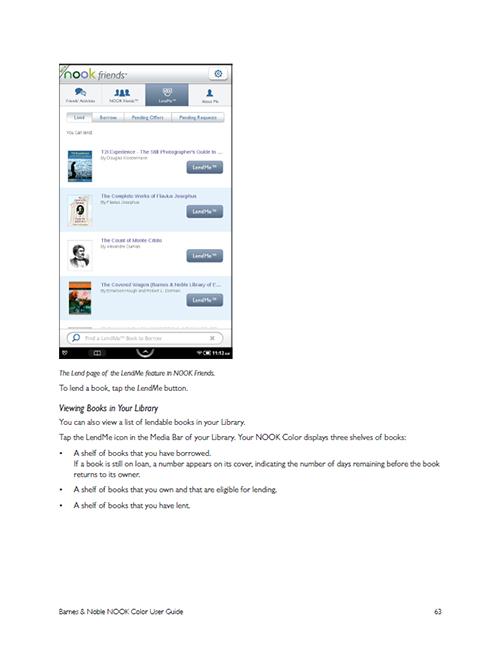 example photo in nook user guide picturing change rh blog dojoklo com nook tablet user guide nook user's guide