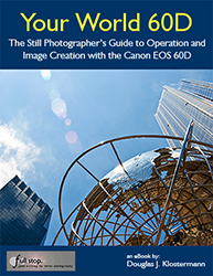 Canon 60D book Your World 60D by Douglas Klostermann