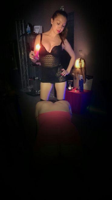 juegos con cera en BDSM