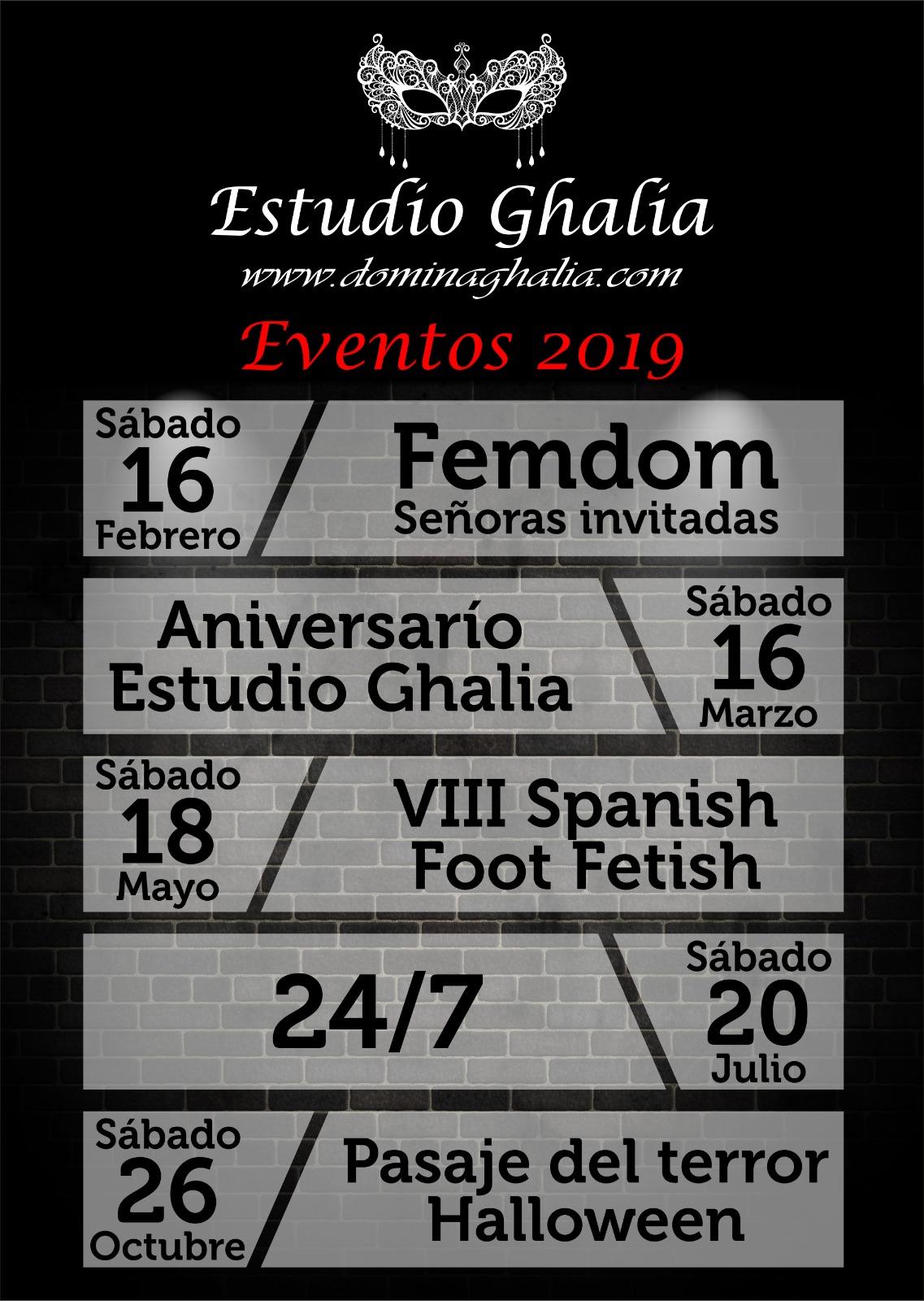 Estudio Ghalia BDSM Benalmádena 2019