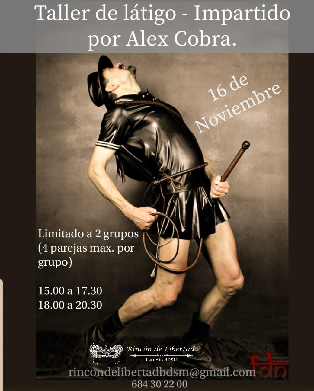 Alex Cobra Evento