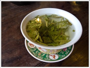 Tea in a Porcelain Cup