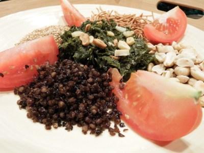Plated Burmese Tea Leaf Salad