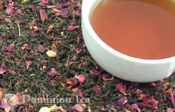 The Rose Garden Tea Dry Leaf and Brew