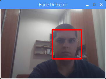 Face detection with OpenCV and Python on RaspberryPi
