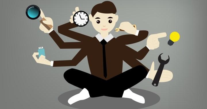 Kan jij goed multitasken? Eigenlijk doe je iets heel anders