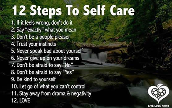 12-steps-to-self-care