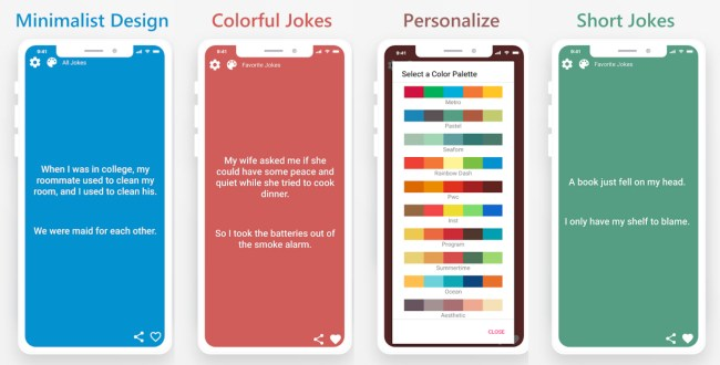 Dad Jokes - Mobile App for Comedians