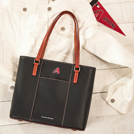 Dooney & Bourke Arizona Diamondbacks tote in black.