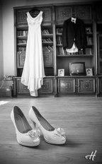 pantofii si rochia