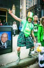 Chicago people on St. Patrick day