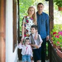 fotografii  cu familia Balan