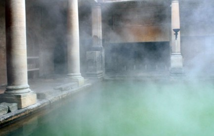 Thermal baths in Bath, England.
