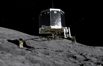 Philae lander arrives on comet