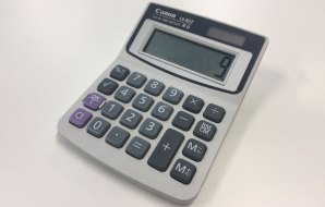 An electric calculator