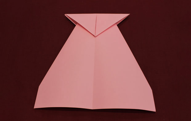 A folded piece of paper.