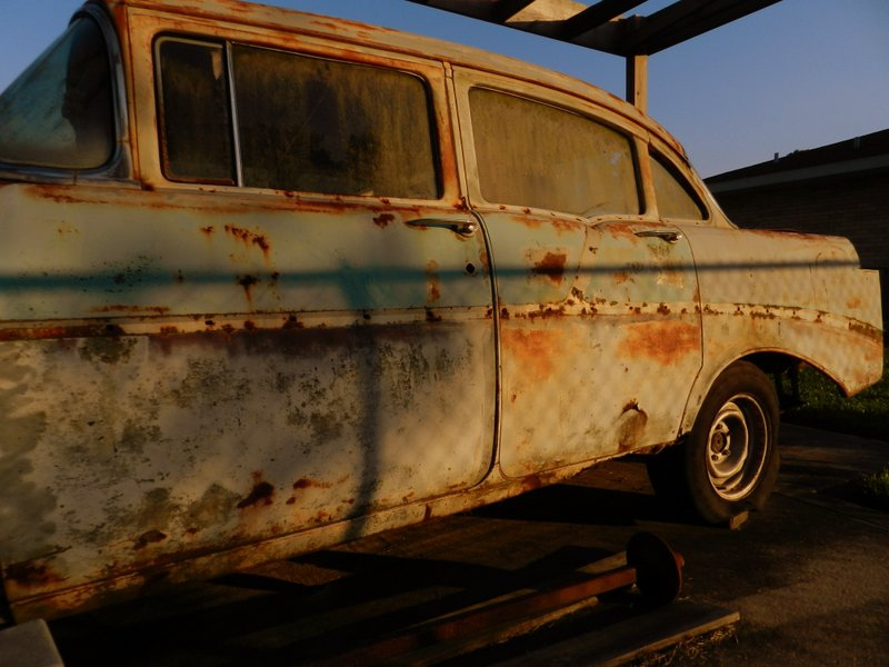 57 Chevy, Needs A Little Work