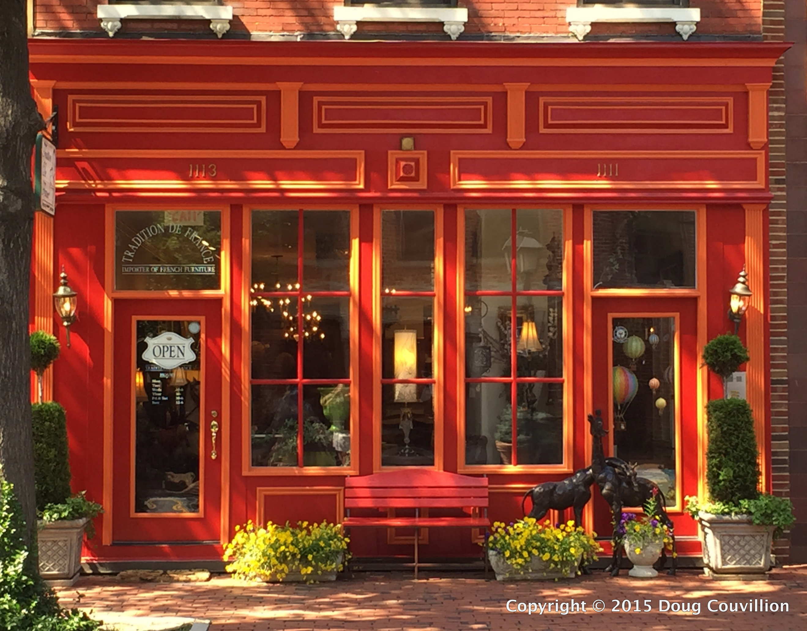 photograph of Traditions De France store in Old Town Alexandria, VA