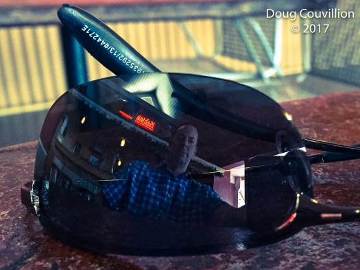 photo by Doug Couvillion of Doug Couvillion reflected in sunglasses
