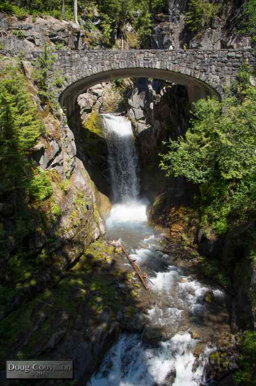 photograph of Christine Falls in Mount Rainer National Park by Doug Couvillion