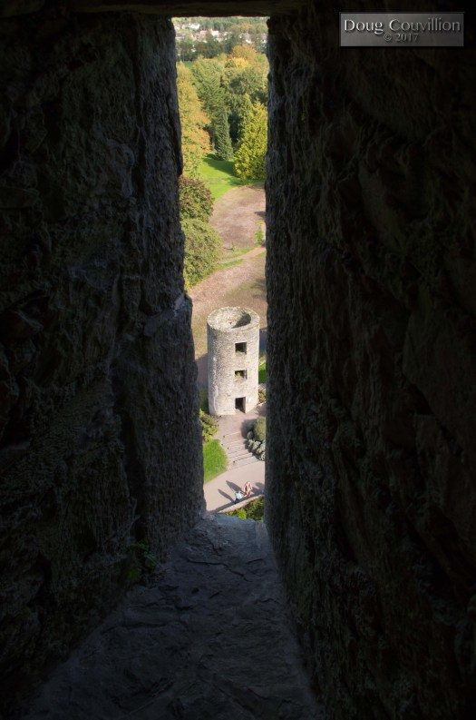 Photograph of a tower at Blarney Castle by Doug Couvillion