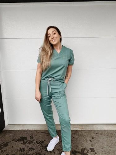 Megan Scott, Bachelor of Science in Nursing student at Douglas College.
