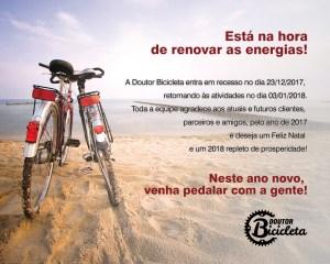 Está na hora de renovar as energias!