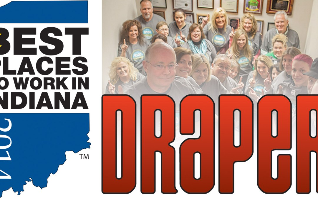 Draper One of Indiana's Best Places to Work