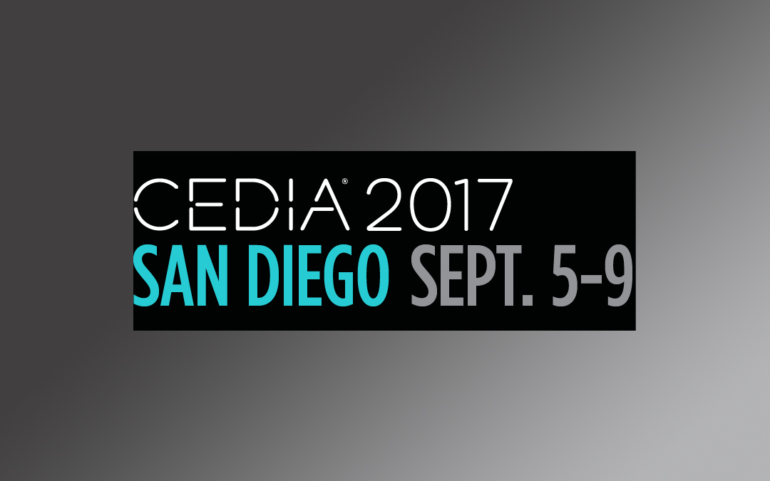 Five Reasons to Visit Us at CEDIA 2017 (Including a Giveaway!)